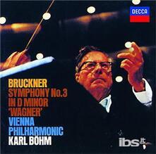 Bruckner. Symphony No.3 (Japanese Edition) - CD Audio di Anton Bruckner,Karl Böhm