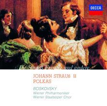Johann Strauss 2. Polkas (Japanese Edition) - CD Audio di Johann Strauss,Willi Boskovsky