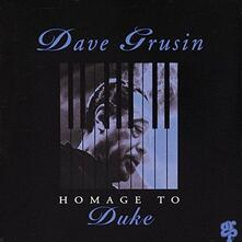 Homage to Duke (Japanese Edition) - CD Audio di Dave Grusin