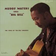 Sings Big Bill (Japanese Edition) - CD Audio di Muddy Waters