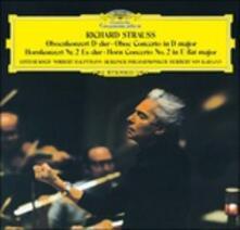 Concerto per Oboe - Concerto per Corno (Japanese Edition) - SHM-CD di Richard Strauss,Herbert Von Karajan,Berliner Philharmoniker