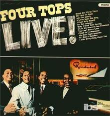 Four Tops Live (Japanese Edition) - CD Audio di Four Tops
