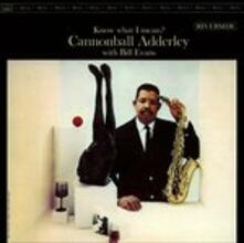 Know What I Mean? (Japanese Edition) - CD Audio di Julian Cannonball Adderley