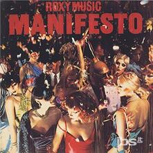 Manifesto (Japanese Edition) - CD Audio di Roxy Music