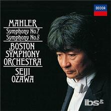 Symphonies 7&8 (Japanese Special Edition) - CD Audio di Gustav Mahler