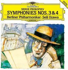 Symphonies 3&4 (Japanese Special Edition) - CD Audio di Sergej Sergeevic Prokofiev