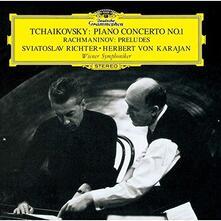 Concerto per pianoforte n.1 (Japanese Edition) - CD Audio di Pyotr Ilyich Tchaikovsky,Herbert Von Karajan,Sviatoslav Richter