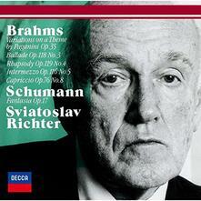 Variazioni su Un Tema di Paganini (Limited Edition) - CD Audio di Johannes Brahms,Sviatoslav Richter