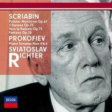 Sonate per Pianoforte n.4, n.6 (Japanese Edition) - CD Audio di Sergej Sergeevic Prokofiev,Sviatoslav Richter