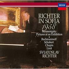 Sofia Recital (Limited Edition) - CD Audio di Sviatoslav Richter