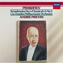 Sinfonie n.1, 5 (Japanese SHM-CD) - SHM-CD di Sergej Sergeevic Prokofiev