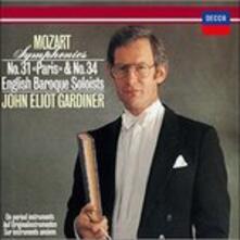 Sinfonie Nos 31&34 (Japanese SHM-CD) - SHM-CD di Wolfgang Amadeus Mozart