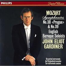 Sinfonie Nos 38&39 (Japanese SHM-CD) - SHM-CD di Wolfgang Amadeus Mozart
