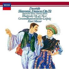 Slavonic Dances op.72 (Japanese SHM-CD) - SHM-CD di Antonin Dvorak