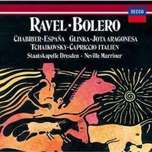 Bolero / Capriccio italiano (SHM-CD Import) - SHM-CD di Maurice Ravel,Pyotr Ilyich Tchaikovsky,Neville Marriner,Staatskapelle Dresda