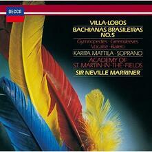 Bachianas Brasileiras (SHM-CD Import) - SHM-CD di Heitor Villa-Lobos,Neville Marriner,Academy of St. Martin in the Fields,Karita Mattila