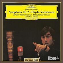 Sinfonia n.2 - Variazioni su un tema di Haydn (Japanese Edition) - CD Audio di Johannes Brahms,Claudio Abbado