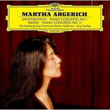 Concerto per pianoforte n.1 / Concerto per pianoforte n.11 (Japanese Edition) - SHM-CD di Franz Joseph Haydn,Dmitri Shostakovich,Martha Argerich