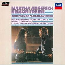 On 2 Pianos (Japanese Edition) - SHM-CD di Martha Argerich,Nelson Freire