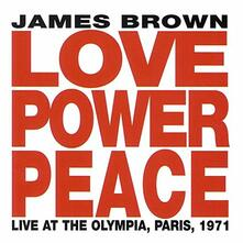 Love Power Peace Live (Japanese Edition) - CD Audio di James Brown