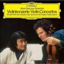 Concerti per Violino (Japanese Edition) - SHM-CD di Alban Berg,Maurice Ravel,Igor Stravinsky,Itzhak Perlman,Seiji Ozawa,Boston Symphony Orchestra
