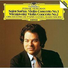 Concerti per Violino (Japanese Edition) - SHM-CD di Camille Saint-Saëns,Henryk Wieniawski,Itzhak Perlman