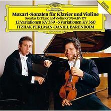 Violin Sonate K. 376 (Japanese SHM-CD) - SHM-CD di Wolfgang Amadeus Mozart,Itzhak Perlman,Daniel Barenboim