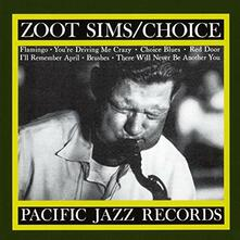 Choice - CD Audio di Zoot Sims