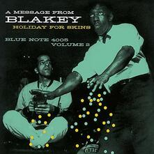 Holiday for Skins vol.2 (Limited Edition) - CD Audio di Art Blakey
