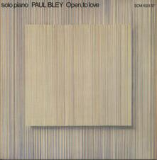 Open, to Love (Limited Edition) - CD Audio di Paul Bley