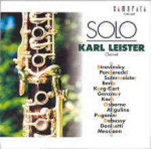 Solo - CD Audio di Karl Leister
