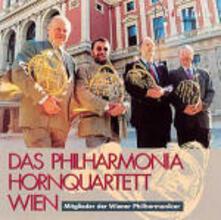 Musiche per quartetto di corni - CD Audio di Philharmonia Hornquartett