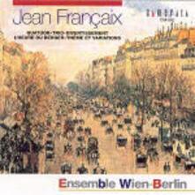 Musica da camera per strumenti a fiato - CD Audio di Jean Françaix