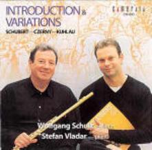 Introduzioni e variazioni per flauto e pianoforte - CD Audio di Franz Schubert,Friedrich Kuhlau,Carl Czerny