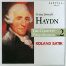 Sonate per pianoforte vol.2 - CD Audio di Franz Joseph Haydn,Roland Batik