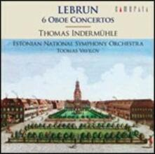 6 Concerti per oboe - CD Audio di Ludwig August Lebrun,Estonian National Symphony Orchestra,Thomas Indermühle,Toomas Vavilov