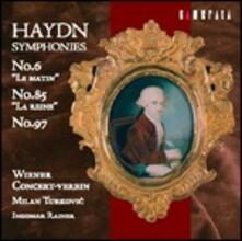 Sinfonie n.6, n.85, n.97 - CD Audio di Franz Joseph Haydn