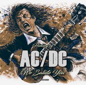 History of. We Salute You - CD Audio di AC/DC