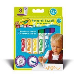 8 Pennarelli Lavabili Mini Kids