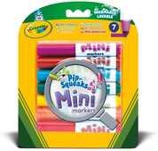 Cartoleria 7 Mini Pennarelli Lavabili Crayola