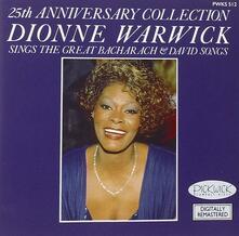 25th Anniversary Collection - CD Audio di Dionne Warwick