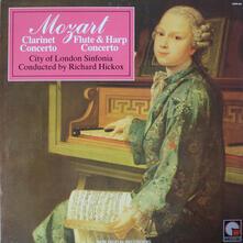 Concerto per Clarinetto - Concerto per Flauto e Arpa - CD Audio di Wolfgang Amadeus Mozart,Richard Hickox