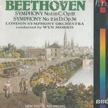 Sinfonia n.1 - CD Audio di Ludwig van Beethoven,Wyn Morris