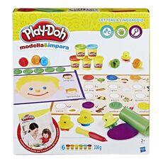 Giocattolo Play-Doh. Set Lettere E Linguaggio Hasbro
