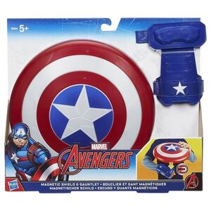 Avengers. Cap Magnetic Shield And Gauntlet