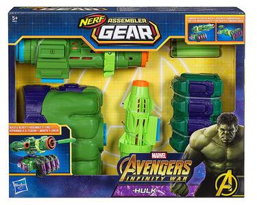 Avengers. Infinity War. Assembler Gear. Blaster Hulk