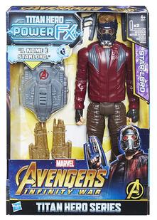 Figure Avengers Titan H. Starlord+Zaino
