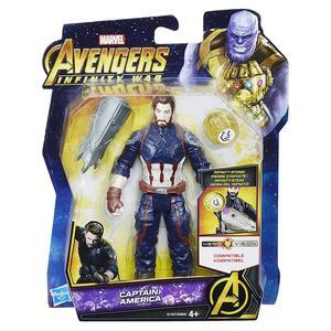 Avengers. Infinity War. Captain America Con Gemma Dell'infinito - 12