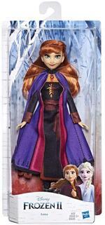 Frozen 2. Anna (Fashion Doll con capelli lunghi e abito blu, ispirata al film Disney Frozen 2)