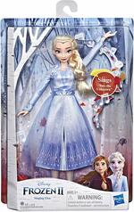 Frozen 2. Elsa cantante (bambola elettronica con abito azzurro, ispirato al film Disney Frozen 2)